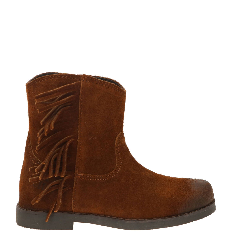 Clic western boot, Lage schoenen, Meisje, Maat 24, bruin/Cognac
