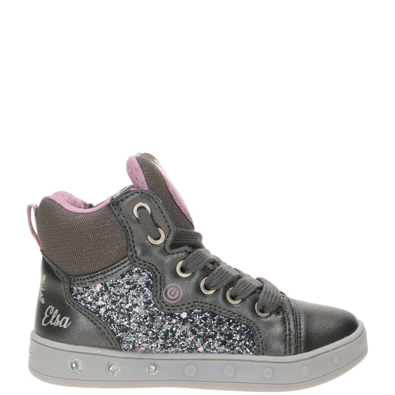 Geox klittenbandschoen, Lage schoenen, Meisje, Maat 30, grijs