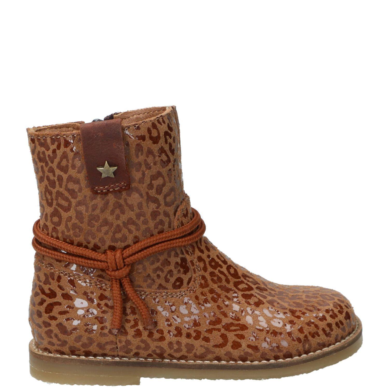 IK-KE laarsje, Lage schoenen, Meisje, Maat 24, bruin/Cognac
