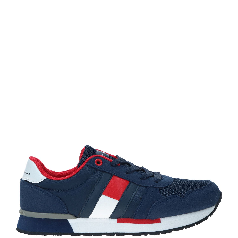 Tommy Hilfiger Lebron sneaker, Sneakers, Jongen, Maat 34, blauw/multi