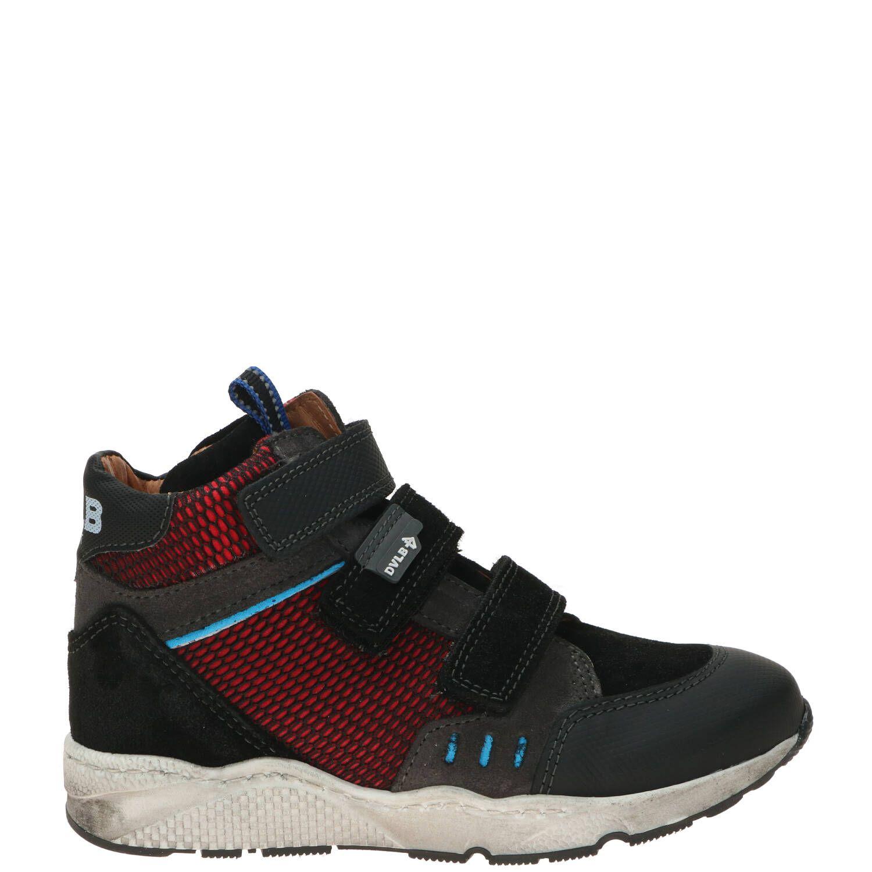 Develab klittenbandschoen, Lage schoenen, Jongen, Maat 29, Overig/rood