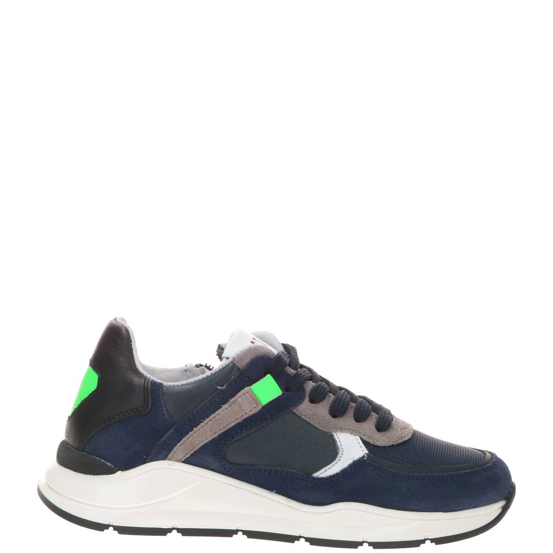 DSTRCT sneaker, Sneakers, Jongen, Maat 35, blauw