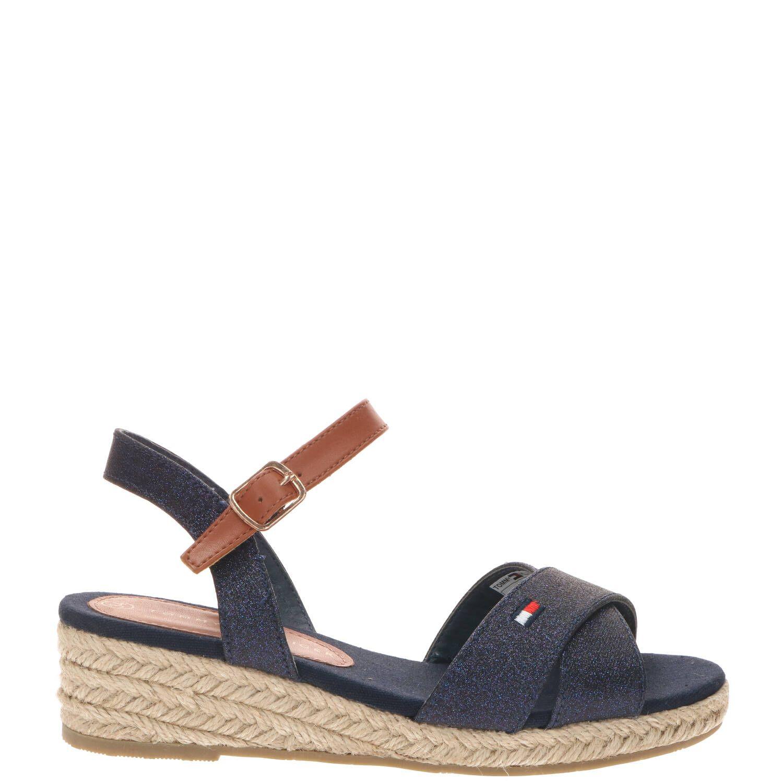 Tommy Hilfiger sandaal, Sandalen, Meisje, Maat 34, blauw