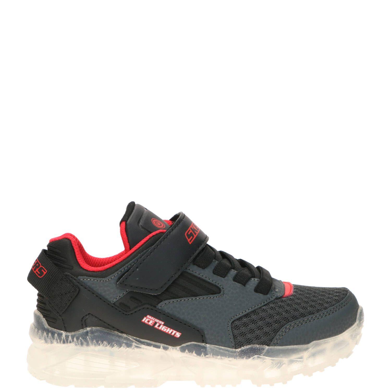 Skechers Ice Lights klittenbandschoen, Lage schoenen, Jongen, Maat 30,