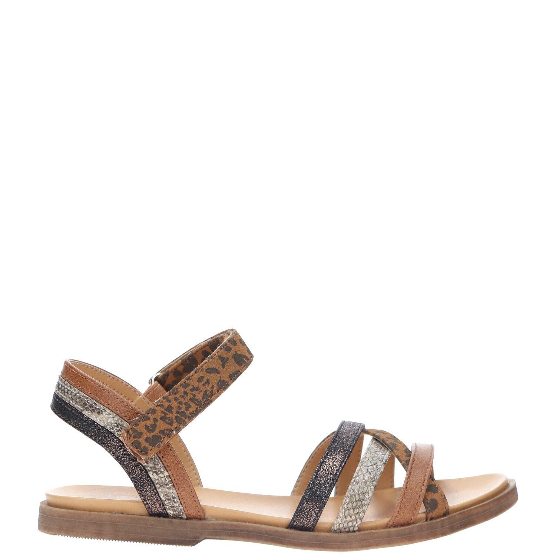 DSTRCT sandaal, Sandalen, Meisje, Maat 33, bruin/Cognac