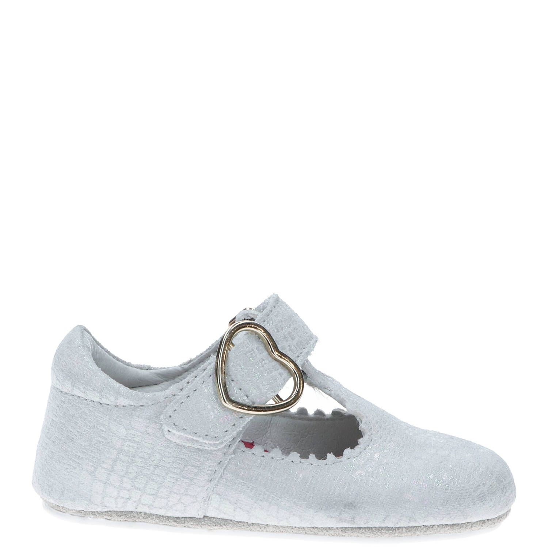 IK-KE babyschoentje, Lage schoenen, Meisje, Maat 19, grijs/beige