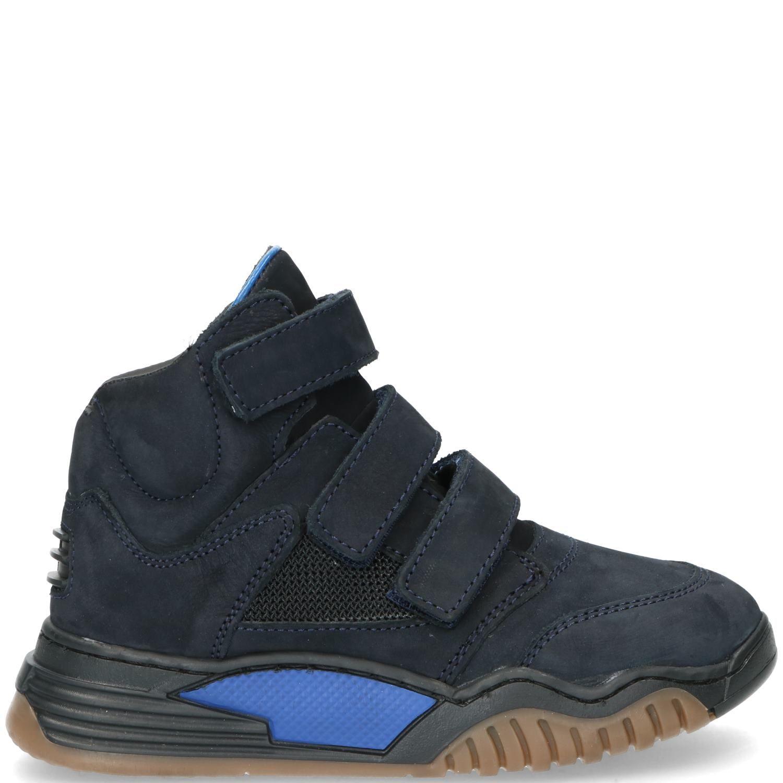 DSTRCT klittenbandschoen, Lage schoenen, Jongen, Maat 25, blauw