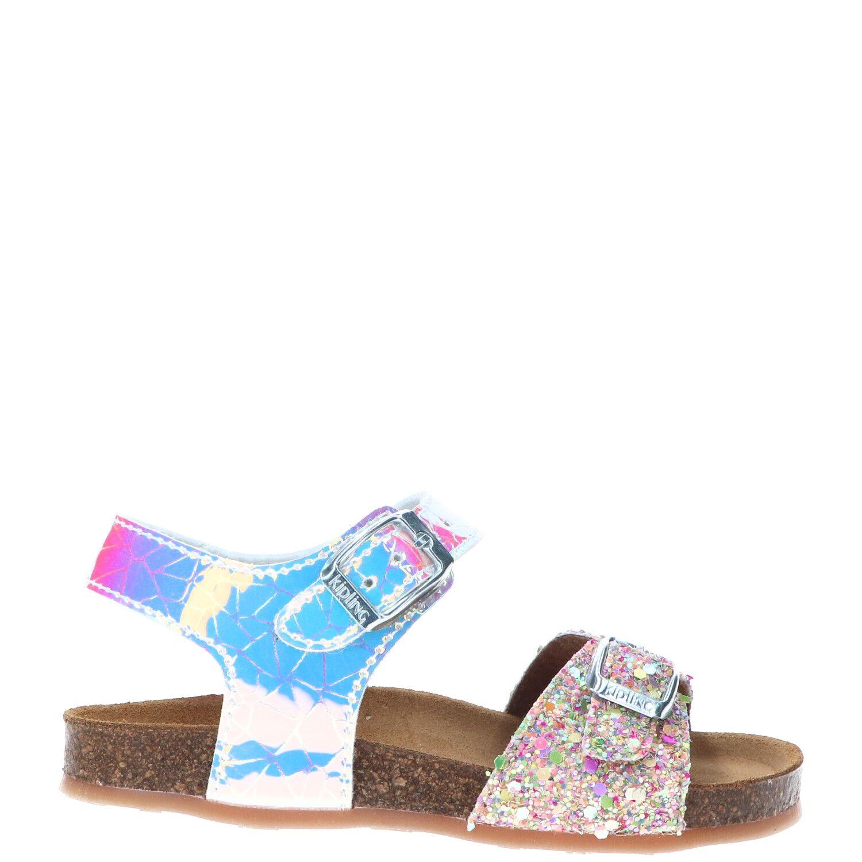 Kipling sandaal, Sandalen, Meisje, Maat 22, roze/multi
