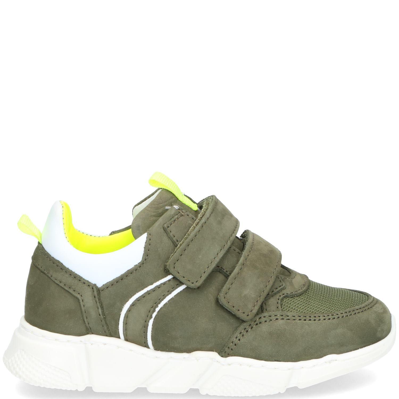 DSTRCT klittenbandschoen, Lage schoenen, Jongen, Maat 27, groen