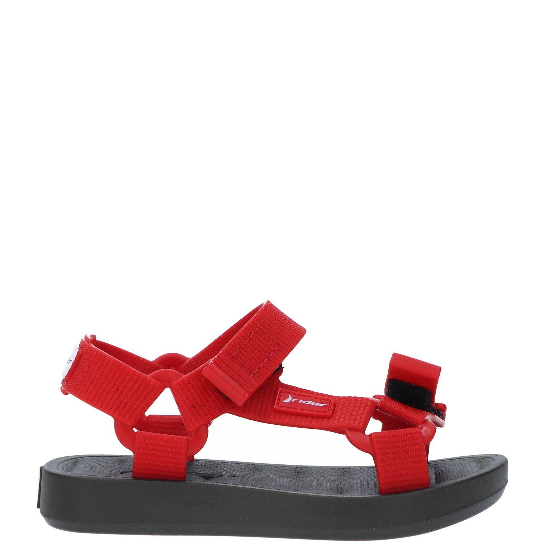Rider Free Papete Baby sandaal, Sandalen, Jongen, Maat 22, rood