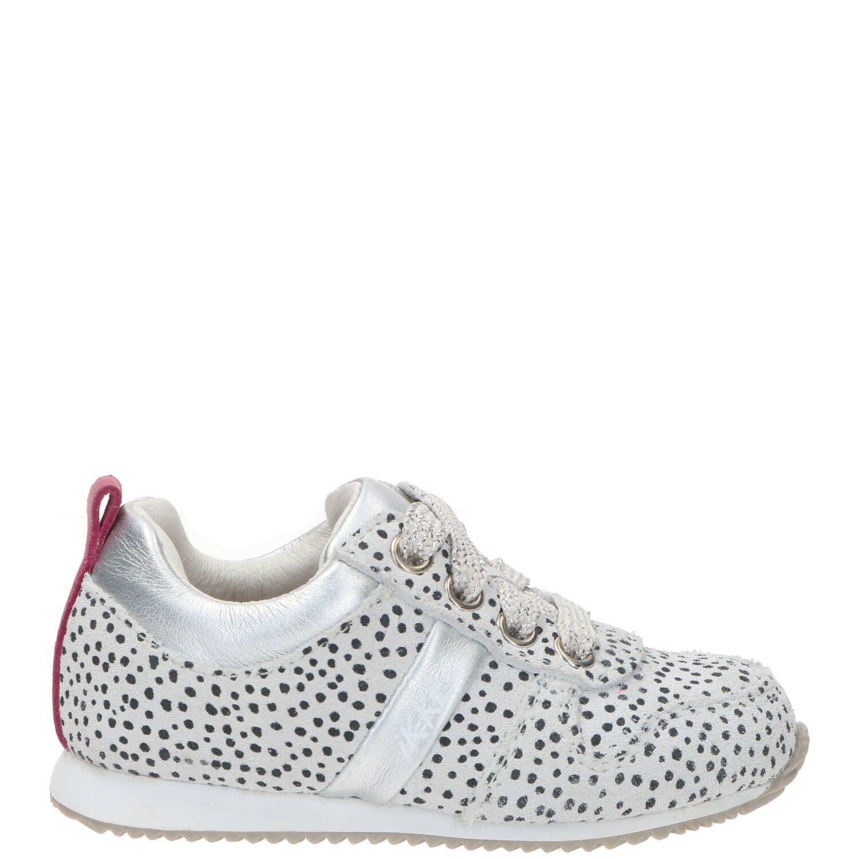 IK-KE babyschoentje, Lage schoenen, Meisje, Maat 23, grijs/wit