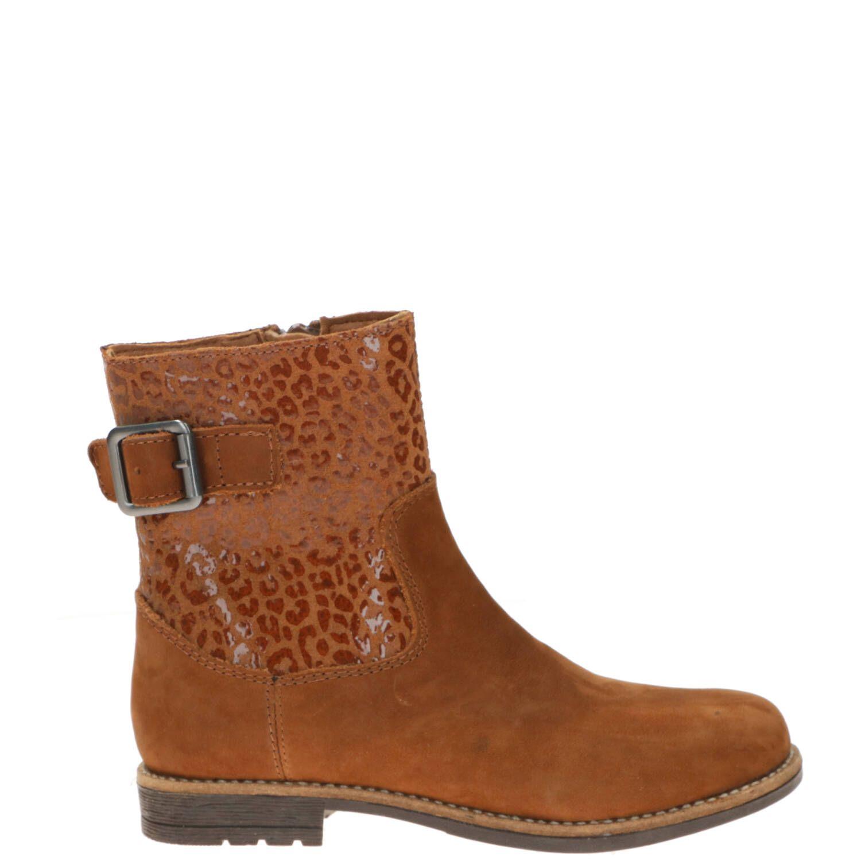 DSTRCT enkellaars, Lage schoenen, Meisje, Maat 34, bruin/Cognac