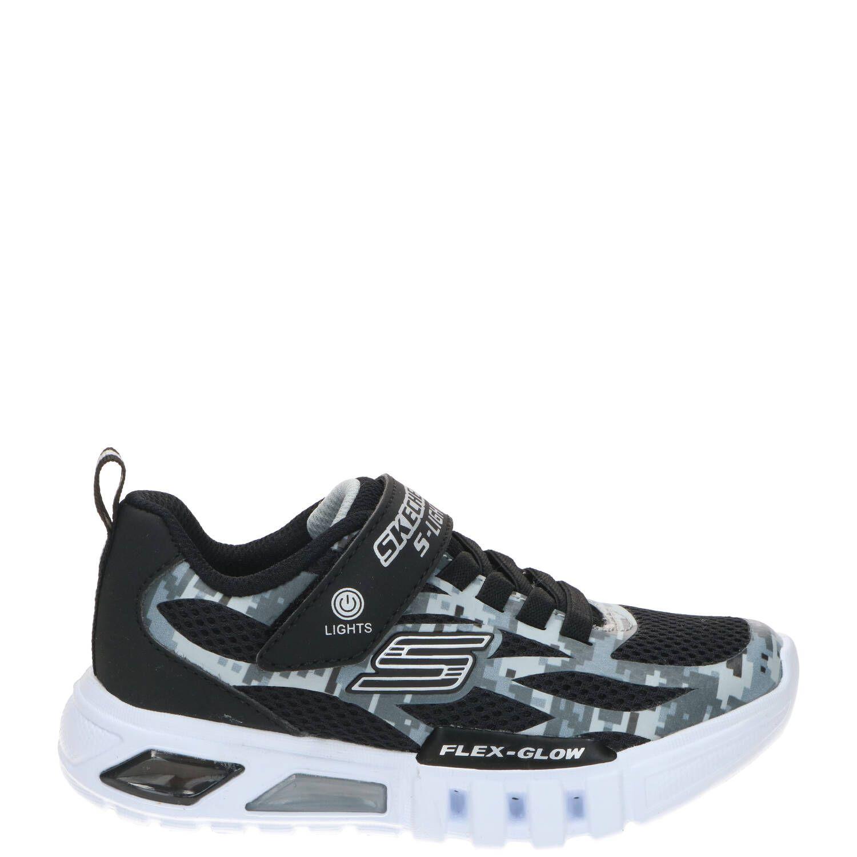 Skechers Flex-Glow Taren lichtjes sneaker, Sneakers, Jongen, Maat 35,