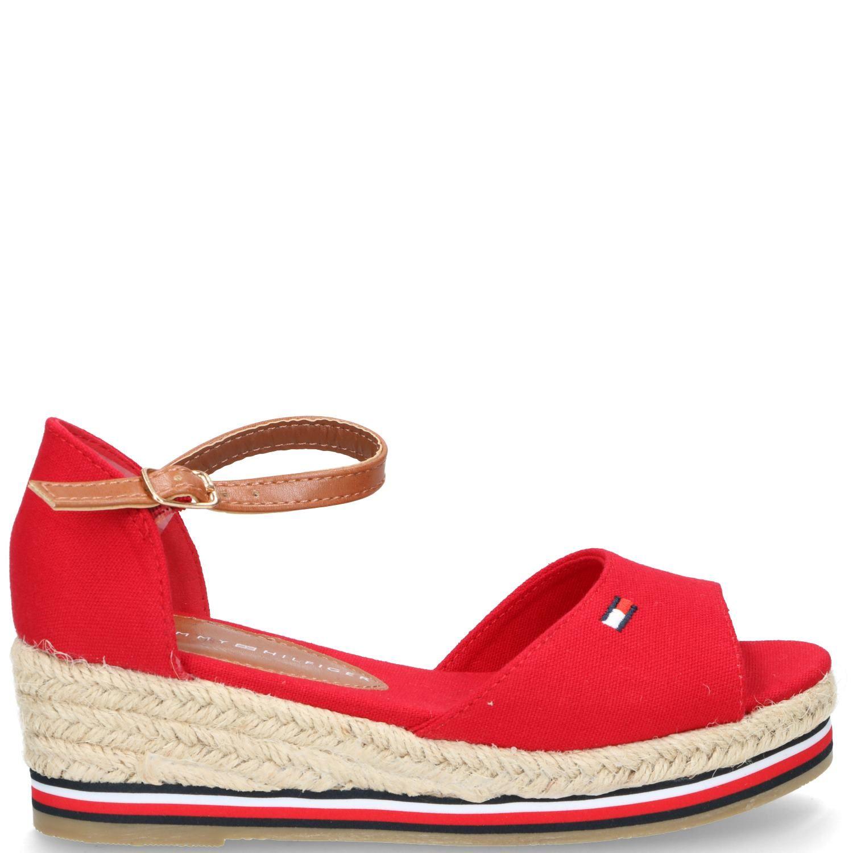 Tommy Hilfiger sandaal, Sandalen, Meisje, rood