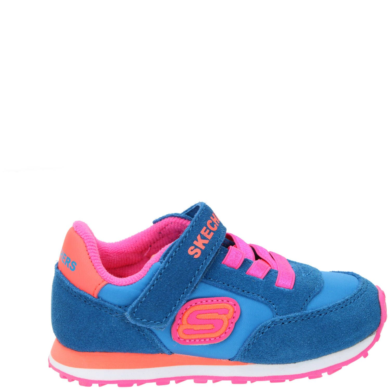 Skechers Retro sneaker, Sneakers, Meisje, blauw/roze