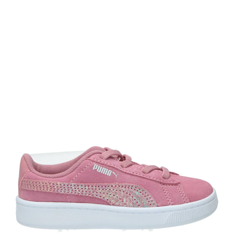 Puma sneaker, Sneakers, Meisje, Maat 24, roze