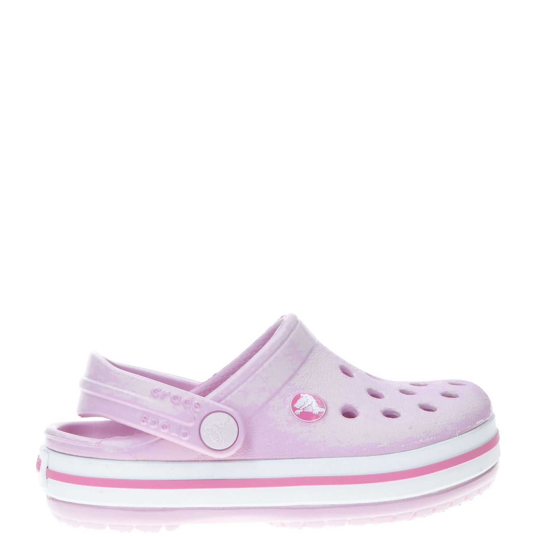 Crocs Crocband Clog, Lage schoenen, Meisje, Maat 22/23, roze