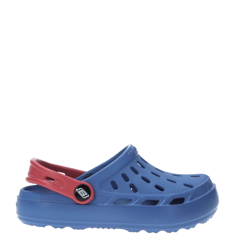 Skechers Swifters slipper, Slippers, Jongen, Maat 32, blauw