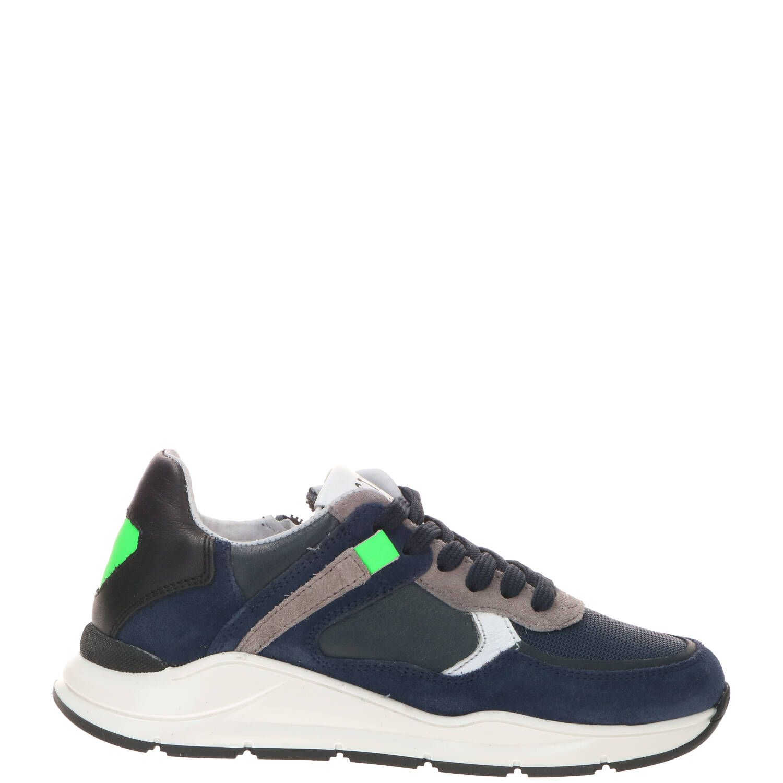 DSTRCT sneaker, Sneakers, Jongen, Maat 36, blauw