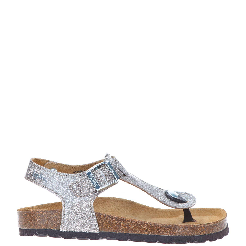 Kipling sandaal, Sandalen, Meisje, Maat 31, goud/zilver