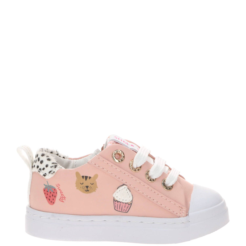 Shoesme veterschoen, Veterschoenen, Meisje, Maat 22, roze