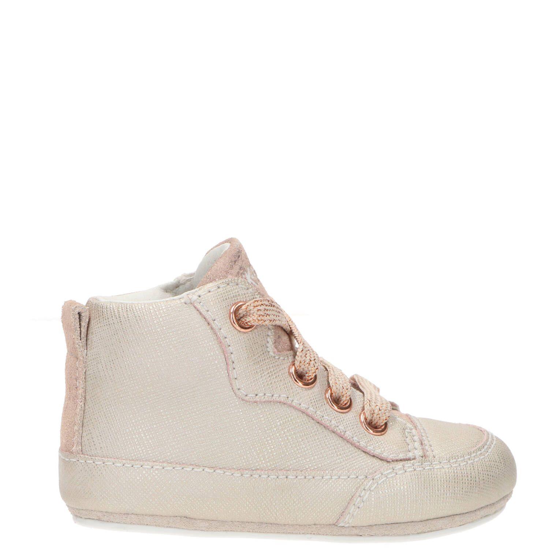 IK-KE babyschoentje, Lage schoenen, Meisje, Maat 19, beige/roze