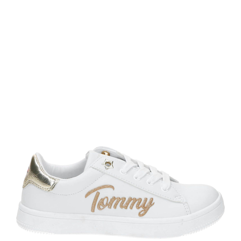 Tommy Hilfiger sneaker, Sneakers, Meisje, Maat 37, wit