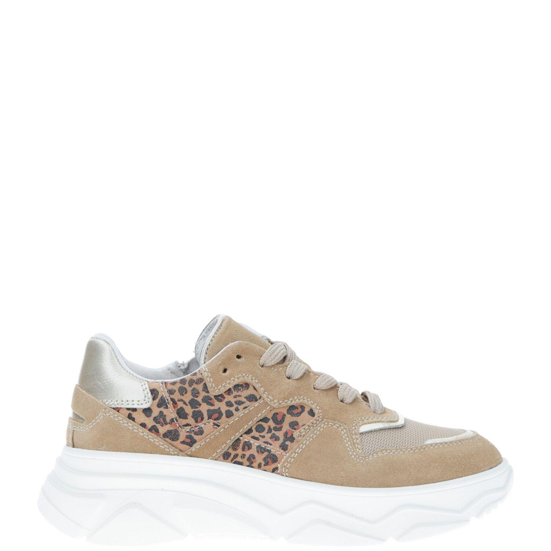 DSTRCT sneaker, Sneakers, Meisje, Maat 36, beige