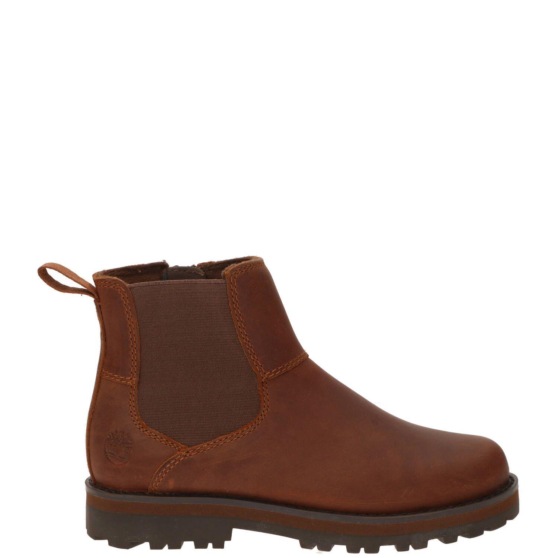 Timberland chelseaboot, Lage schoenen, Jongen, Maat 36, bruin/Cognac