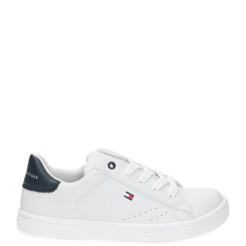 Tommy Hilfiger sneaker, Sneakers, Jongen, Maat 34, wit