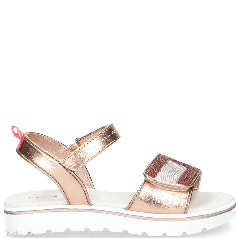 Tommy Hilfiger sandaal, Sandalen, Meisje, goud/roze