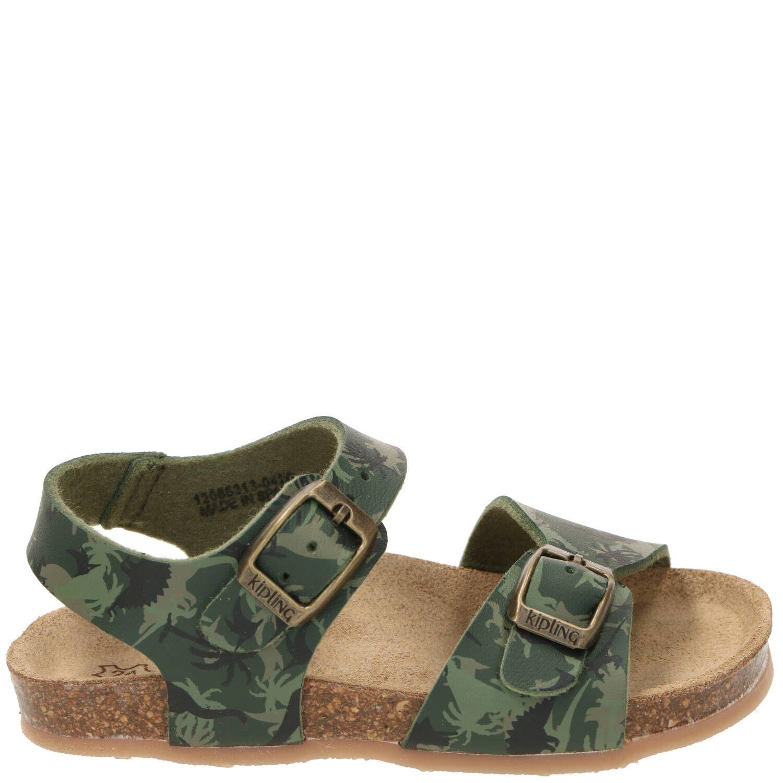 Kipling sandaal, Sandalen, Jongen, groen