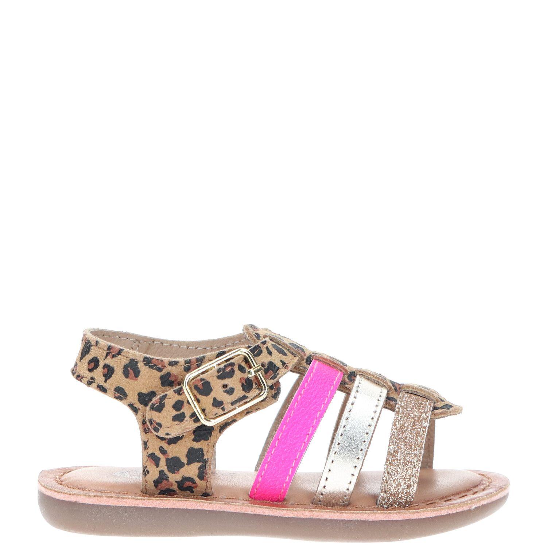 IK-KE sandaal, Sandalen, Meisje, Maat 22, bruin/multi
