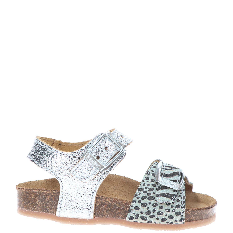Kipling sandaal, Sandalen, Meisje, Maat 28, zilver