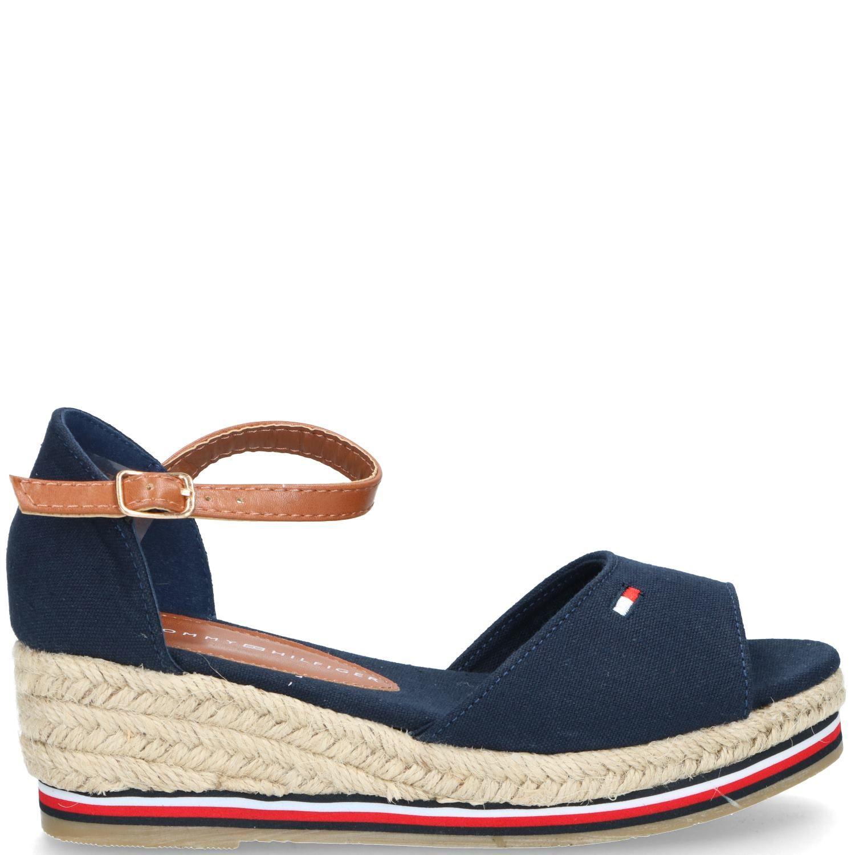 Tommy Hilfiger sandaal, Sandalen, Meisje, blauw