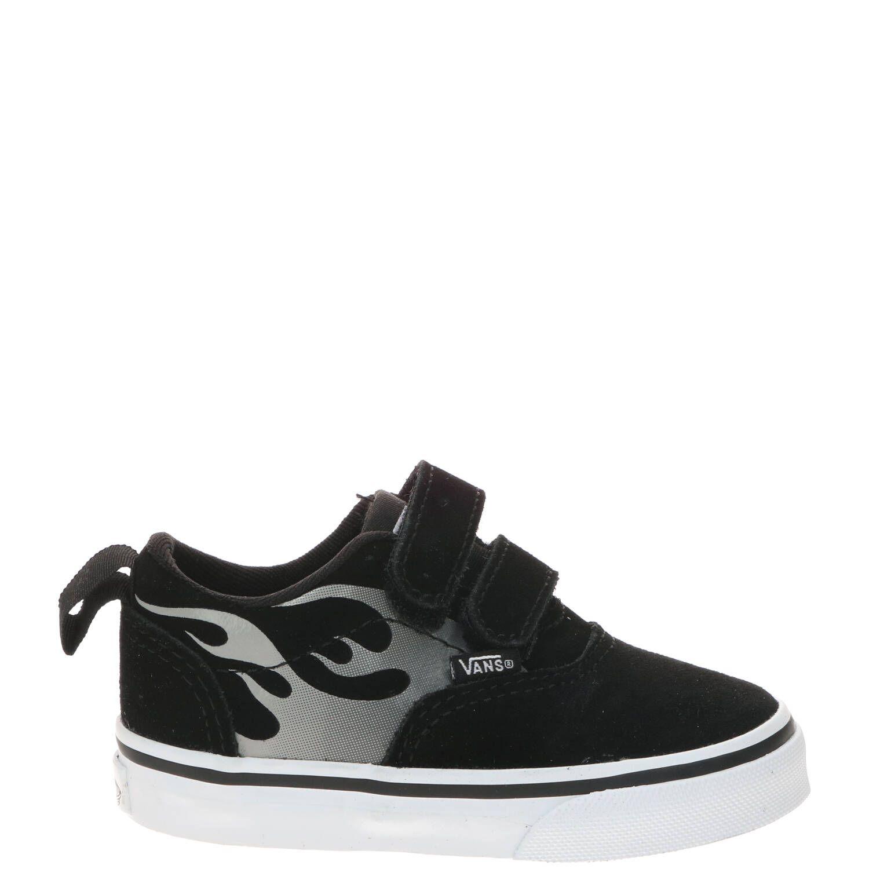 Vans Doheny V Flame klittenband sneaker, Sneakers, Jongen, Maat 24,