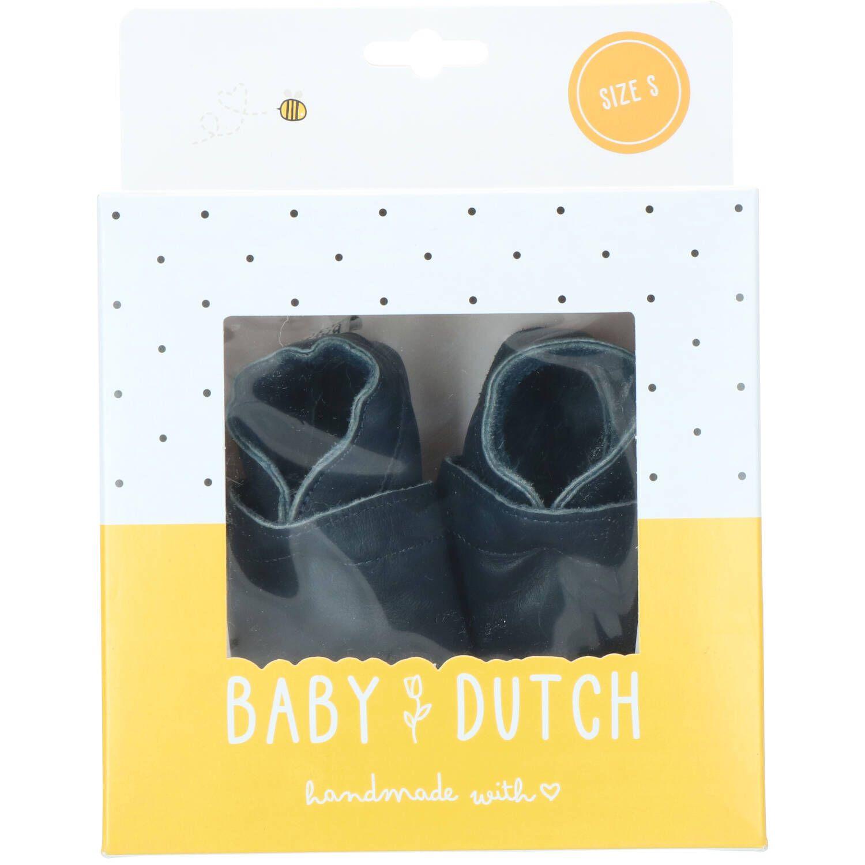 Baby Dutch babyslofje, Lage schoenen, Jongen, Maat 18, blauw