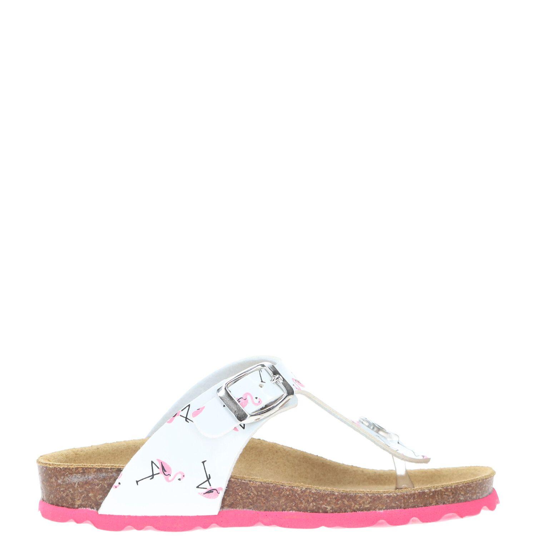 Gems slipper, Slippers, Meisje, Maat 23, wit/roze