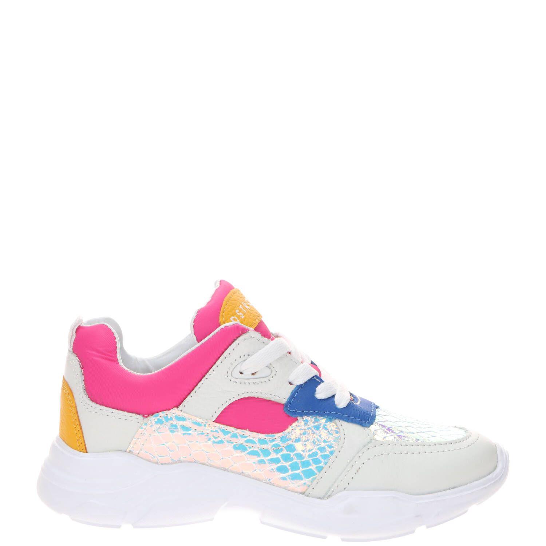 DSTRCT sneaker, Sneakers, Meisje, Maat 32, wit
