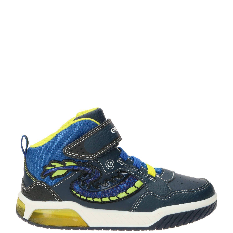 Geox jongensboot, Lage schoenen, Jongen, Maat 33, blauw/multi