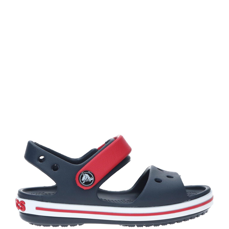 Crocs Crocband sandaal, Sandalen, Jongen, Maat 23/24, rood/blauw