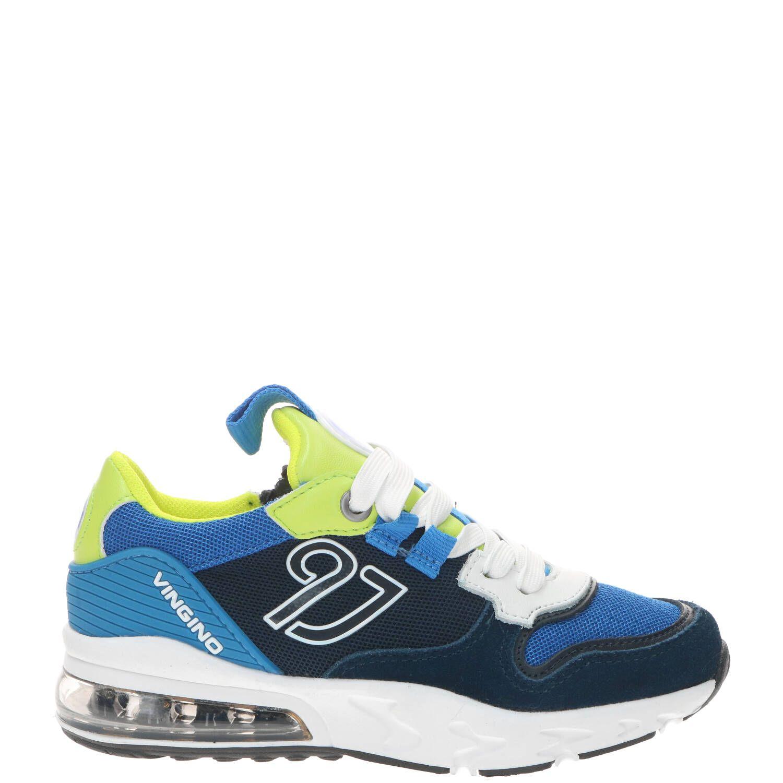 Vingino Giulio sneaker, Sneakers, Jongen, Maat 37, blauw