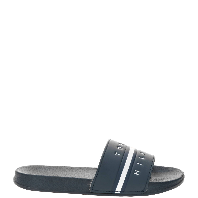 Tommy Hilfiger slipper, Slippers, Jongen, Maat 35, blauw