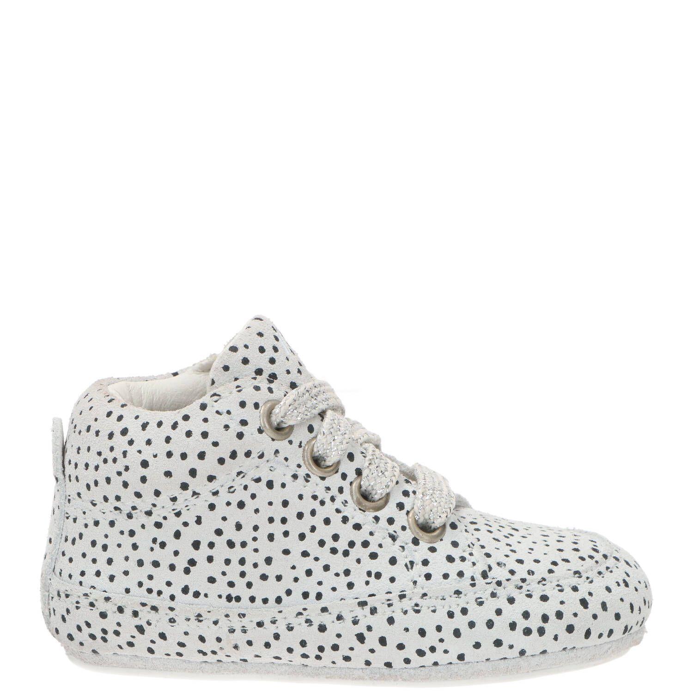 IK-KE babyschoentje, Lage schoenen, Meisje, Maat 21, grijs/wit