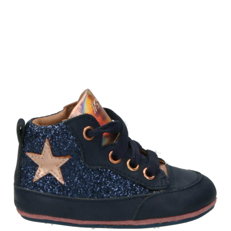 IK-KE babyschoentje, Lage schoenen, Meisje, Maat 19, blauw