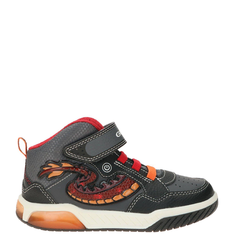 Geox klittenbandschoen, Lage schoenen, Jongen, Maat 35, grijs