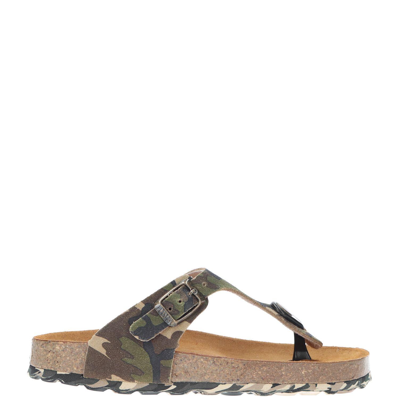 Develab slipper, Slippers, Jongen, Maat 34, groen