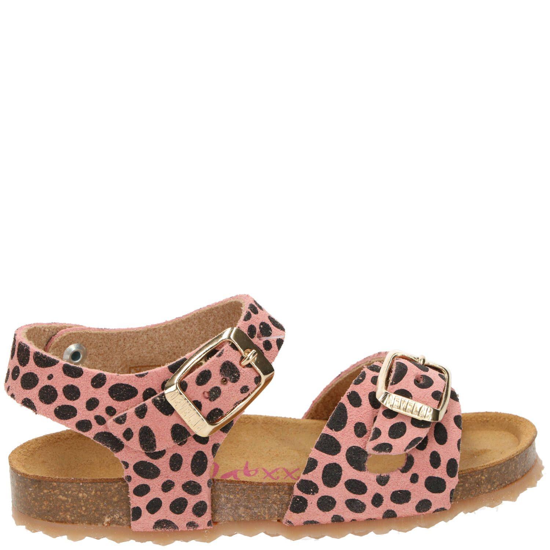 Develab sandaal, Sandalen, Meisje, beige/roze