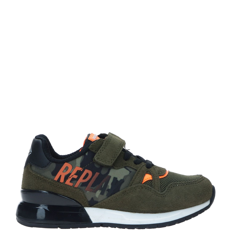 Replay Blazen sneaker, Sneakers, Jongen, Maat 31, groen