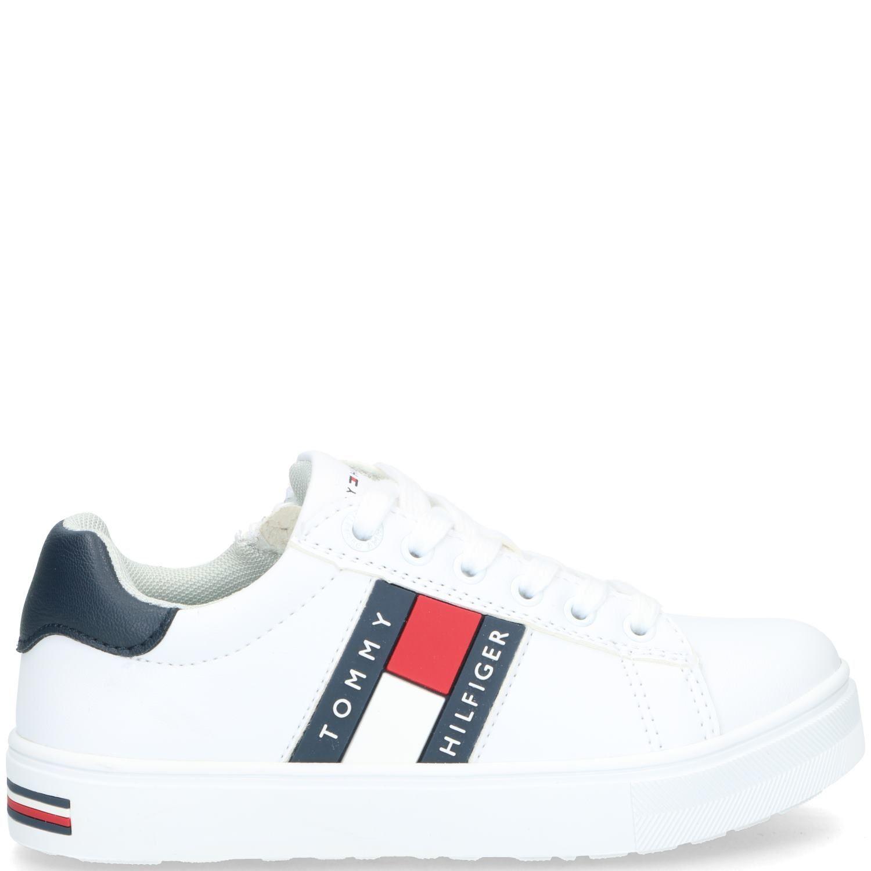Tommy Hilfiger sneaker, Sneakers, Jongen, wit